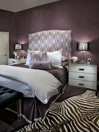 purple grey and black bedroom ideas.  Bedroom Headboard And Zebra Rug Accents This Bedroom Oozes Glamour With Its Mix Of  Purple Hues To Purple Grey And Black Bedroom Ideas R