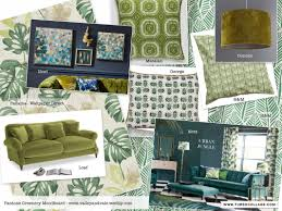 Next Living Room Accessories 2017 Spring Trends Pantone Greenery And Tropical Themes Green