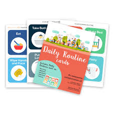 Daily Routine Printable Printable Routine Picture Cards