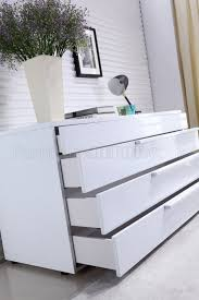 dolce dresser in high gloss white lacquer by casabianca casabianca furniture dolce collection lacquer dresser white