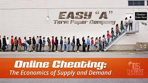 online cheating the economics of supply and demand the best schools online cheating the economics of supply and demand