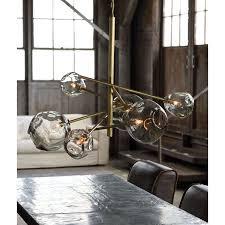 Regina Andrew Design Molten Chandelier Brass