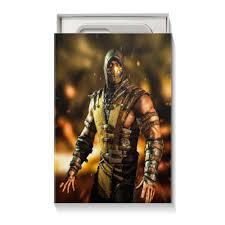 """Коробка для чехлов """"Mortal Kombat (Scorpion)"""" #2494087 от Аня ..."""
