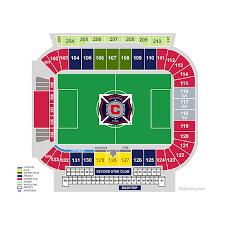 Bulls Stadium Map 2019