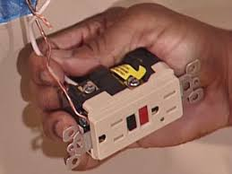 how to install a gfci outlet how tos diy Fan Wiring To Electrical Power Outlet neutral wire goes first in stab in receptacle Residential Electrical Wiring Diagrams