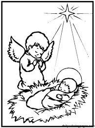 Small Picture Easy baby jesus coloring pages ba jesus coloring pages for kids