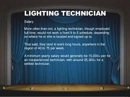 lighting technician. LIGHTING TECHNICIAN Lighting Technician