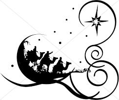 religious christmas clip art. Interesting Christmas Whimsical Wise Men For Religious Christmas Clip Art