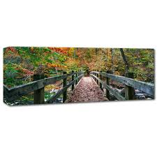 Autumn in Rock Creek Park by Gregory O'Hanlon, 8x24-Inch Canvas Wall Art:  Amazon.in: Home & Kitchen