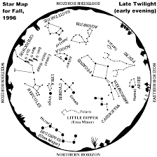 What Is A Star Chart Whole Sky Map For Fall 1996