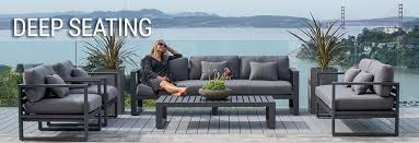 modern metal patio furniture. Interesting Patio Deep Seating Outdoor Patio Furniture Set From Terra Outdoor Living To Modern Metal Patio Furniture T