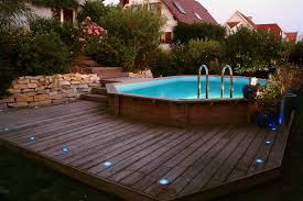 Charmant Piscine Hors Sol Acier Ovale 13 D233co Jardin Piscine