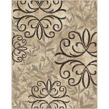 better homes and gardens iron fleur area rug. Contemporary Fleur Better Homes And Gardens Polypropylene Iron Fleur Area Rug Beige 7u00276 And Rug