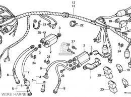 honda vt600c shadow 1989 k switzerland kph parts lists and honda vt600c shadow 1989 k switzerland kph wire harness