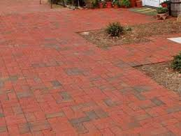 Brick basketweave pattern.