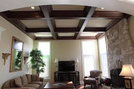 ... Top Notch Home Interior Design And Decoration With Modern Coffered  Ceiling Ideas : Fancy Picture Of ...