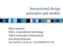 Instructional Design Theory And Models Ppt Ppt Instructional Design Principles And Models Powerpoint