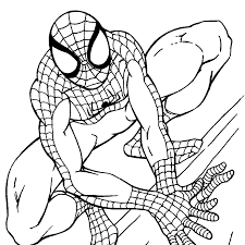 Spiderman coloring pages become a good idea to accompany your son to study. Spiderman Coloring Pages For Toddlers Printable Spiderman Coloring Pages Easy And Fun Spiderman Coloring Cartoon Coloring Pages Toddler Coloring Book