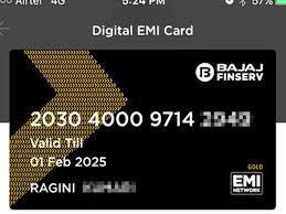what is bajaj finserv emi card how to