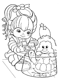 Small Picture Rainbow Brite Coloring Pages coloring 3 Pinterest Rainbow