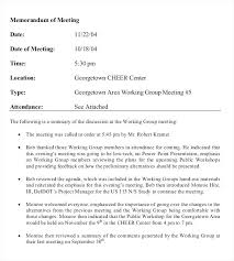 Staff Meeting Memo Example Format For Sample Invite Template Free