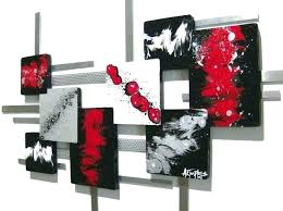 wall arts black and red wall art arts white medium size of grey