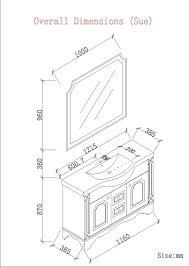 impressive bathroom vanity dimensions with bathroom standard vanity height for modern bathroom ganecovillage