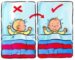 العناية بالطفل , طريقة نوم الاطفال