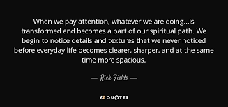 TOP 5 QUOTES BY RICK FIELDS | A-Z Quotes