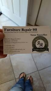 furniture repair 911 18 photos 45 reviews furniture reupholstery glendale ca phone number yelp