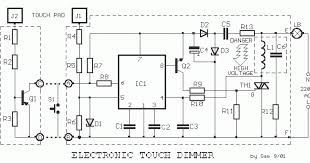 ls7232 touch control lamp dimmer ic design ideas