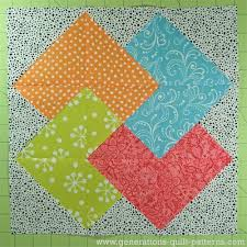 Card Trick Quilt Pattern Interesting Card Trick Quilt Block From Our Free Quilt Block Pattern Library