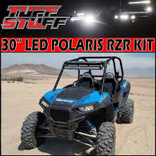 polaris rzr xp led light bar mount tuff stuff led lightbar polaris rzr xp led light bar mount 30prime tuff stuff led lightbar 180w 11 250 lm
