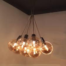 smoke glass ball pendant lighting home art pendant lighting direct factory pendant light on en ofweek com