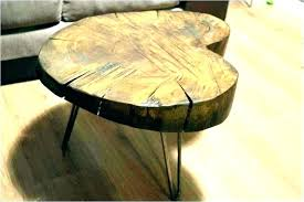 wood stump end table tree stump coffee tables tree stump coffee table base