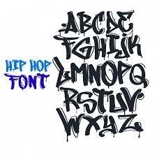 Graffiti Font Free Graffiti Font Vector Vector Premium Download