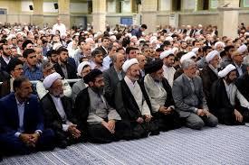 Image result for رهبر انقلاب در دیدار دستاندرکاران حج