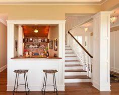 basement wet bar under stairs. Houzz Under Stairs Wet Bars | Little Bar And Pillars Basement