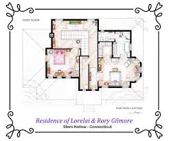 The Domestic Curator 10 Floor Plans Of The Most Famous TV Tv House Floor Plans