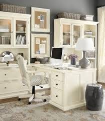 white home office furniture. a home office layout like this would allow me to white furniture