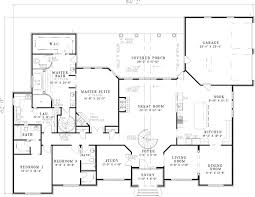 luxury house plan first floor 055s 0046 house planore