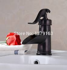 new water pump look style oil rubbed bronze copper single handle bathroom vessel sink
