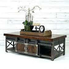 door coffee table rolling barn door coffee table pottery old exterior sliding hardware tractor supply old