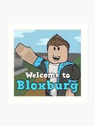 Welcome To Bloxburg Fan Art Art Print