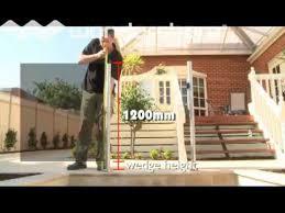 highgrove pool fences part 1 dyi instructional dvd glass semi frameless post system