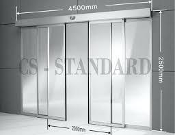 average sliding glass door size superior standard size sliding glass door standard automatic sliding glass door