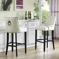 dining room bar furniture counter bar stools uptown cream leather counter stool