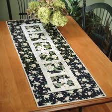 Best 25+ Quilted table runner patterns ideas on Pinterest | Table ... & Garden Path Quilted Table Runner - via Adamdwight.com