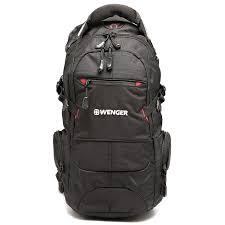 <b>Рюкзак Wenger NARROW</b> HIKING PACK Черный, цена 4760 руб ...