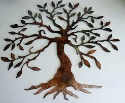 large metal tree wall art extra decor garden